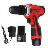12V/18V/21V Electric Cordless Power Drill Home Handhold Electric Screwdriver Mini Wireless Power Driver
