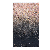 4x6ft/5x7ft/3x5ft Glitter Black Gold Dots Thin Vinyl Photography Backdrop Background Studio Photo