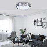 Modern 12W Round LED Suporte de lâmpada de encanamento de luz de teto para baixo AC110-240V