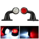 2pcs 5w 10-30 V LED fabricante de lado de la lámpara indicadora tallo de luz para remolque de camión van camión