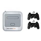 Super Console X Pro Amlogic S905X Consola de juegos de TV inalámbrica 64GB 128GB 50000+ Reproductor de juegos TV Caja 4K HD para PSP PS1 N64 NES Atatri GB Soporte APLICACIÓN Descargar