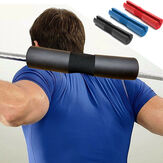 Foam Padded Barbell Bar Cover Pad Gym Back Support Kussen