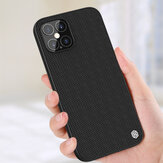 NILLKIN Anti-Fingerprint Anti-Slip Nylon Synthetic Fiber Textured Shockproof Protective Case for iPhone 12 Pro Max