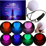 New Fashion LED POI Thrown Balls for Professional Belly Dance Level Hand Props