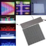 8 * 32cm 16 * 16cm WS2812B 256 Pixels Digital 5050 RGB Dream Color Programado LED Module Strip DC5V
