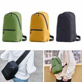 ZANJIA 7L Tas Dada 3 Warna Level 4 Tahan Air Nylon 10 inch Laptop Messenger Bag 100g Ringan Perjalanan Luar Ruangan