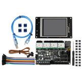 Placa base MKS Robin v1.0 + controladores TMC2209 + Kit de juego de pantalla táctil MKS TFT28 para impresora 3D Creality 3D