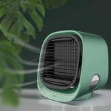 M-201 Çok Fonksiyonlu USB Masaüstü Hava Soğutma Fanı Klima Fanı Hava Soğutucu Kişisel Fanlar