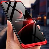 Bakeey for Xiaomi Redmi Note 10 Pro/ Redmi Note 10 Pro Max Case 3 in 1 Detachable Double Dip with Lens Protect Frosted Anti-Fingerprint Shockproof PC Protective Case Non-Original
