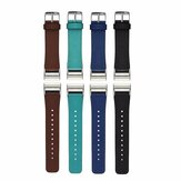 Replacement Leather Watch Band Wrist Strap For Fitbit Charge 2