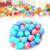 100Pcs Corful Ball Soft Plastic Ocean Ball Baby Kid Swim Piscina Pit Toy