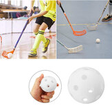 1PCS 72MM 26-Holes PVC Plastic Floorball Training Ball Indoor Floorball Practicing Equipment