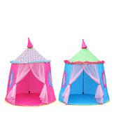 137 x 140 cm portatile principessa Tenda Indoor Outdoor bambini giocattolo Mini Wigwam