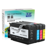 TIANSE HP711 711 Ink Cartridge For HP Designjet T120 T520 for CZ133A CZ130A CZ131A CZ132A Printer Ink