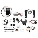 Kit de conversion de contrôleur de moteur de scooter de vélo électrique motorisé 24V 350W