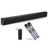 N-S02WX 60 Вт звуковая панель для домашнего кинотеатра bluetooth-динамик 3D стерео бас DSP звук KTV аудио звуковая панель волоконно-коаксиальный настен