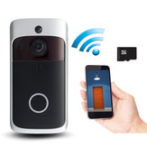 WiFi Wireless Remote Video Doorbell Camera Door Intercom Security Bell Phone