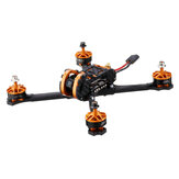 Eachine Tyro109 210mm DIY 5 cali FPV Racing Drone PNP w / F4 30A 600 mW VTX Caddx Turbo Eos2 1200TVL Camera