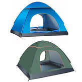 3-4 Person Camping Tent Automatic Waterproof UV Protection Sunshade Canopy Outdoor Travel