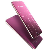 Anica A16 1.63 Inch 480mAh Touch Sensitive Keyboard Ultra Thin Dual SIM Bluetooth Mini Card Phone