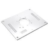 Drillpro 300x235x95mm aluminiowa płyta routera płyta wkładka do obróbki drewna panel odwracany do Makita 3612