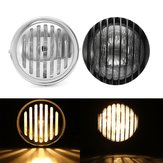 6.5 inch Motorfiets Koplamp Retro Grill Guard Metal Voor Harley Chopper Cafe Racer