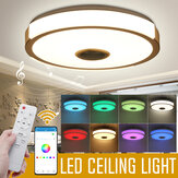36W 108LED Music Ceiling Lamp RGB APP+Remote Control Bedroom Study Living Room