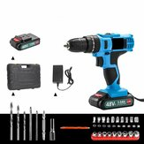 21V 3Ah 2000RPM Cordless Impact Wrench Hand Drill Torque Tool 1800mAh