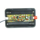 Kit de production d'émetteur FM 5mA 70MHz pour pièces de microphone sans fil bricolage EQKIT® RF-01 avec antenne