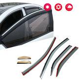 Defletores de vento da máscara do Sun do respiradouro do protetor da chuva da viseira da janela para Toyota Camry 2012-2016