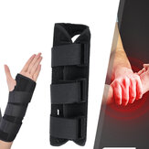 Right/Left Hand Wrist Brace for Carpal Tunnel Adjustable Wrist Support Brace with Splints Arm Compression Hand Wrist Support