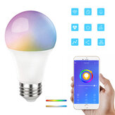 E27 RGB+CCT 9W Smart Bulb EWeLink APP LED Lamp Works With Amazon Alexa Google Home 220-240V