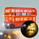 Kit de iluminación DIY luz LED SOLO para LEGO 10258 London Bus Building Block Bricks Toys