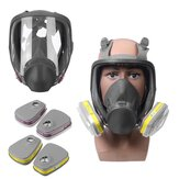Gas Mask Spray Paint Chemical Full-face Mask Activated Carbon Dust-proof Formaldehyde Full-face Protective Mask