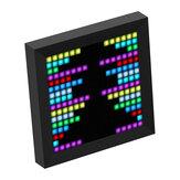Divoom Pixoo bluetooth Dijital Fotoğraf Çerçevesi Alarmı Saat ile Pixel Sanat Programlanabilir LED Ekran