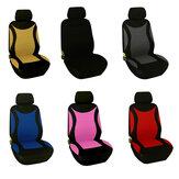 Universal Car Auto Siedzenie Poduszka zagłówka Pokrycie siedzenia Fibre 6 kolorów