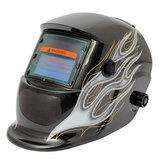 Siyah Alev Solar Oto Koyu Renkli Kaynakçı Kaynak Kaskı Maske