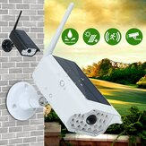 1000LM Solar LED Light Dummy Security Camera PIR Motion Sensor Wall Lamp