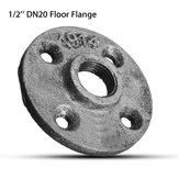 1/2 di pollice DN20 ghisa tubo di acciaio tubo Piano flangia del tubo Raccordo di montaggio a parete