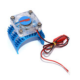 Heatsink Fan Cooling For 1/10 HSP HPI tamiya FS Kyosho Yokomo Wltoys 36mm Motor RC Car Parts