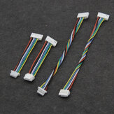 1PC 5cm/10cm Dual Head Silicone Wire GH1.25 8p To GH1.25/1.0 6p Plug 6 Line for DJI Air Unit FPV Racing