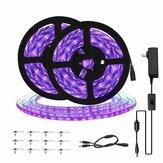 10M LED String Light UV Ультрафиолетовый гибкий фиолетовый 33ft Черный свет 60LED/1M