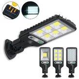 300W-650W IP65 LED Solar Street Light PIR Motion Sensor Wall Mounted Lamp Garden