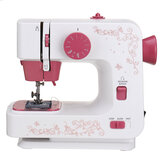Electric Portable Sewing Machine 12 Stitches Household DIY 2 Speed Foot Pedal