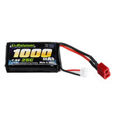 7.4V 1000mah 25C Lipo Battery For SG 1601 1602 RC Car Parts T Plug
