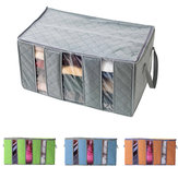 60x35x35cm Non Woven Clothes Quilt Storage Bag Dustproof  Moisture Proof Organizer Bag with Zipper