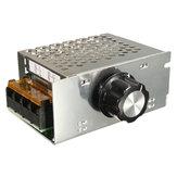 3pcs AC 220V 4000W SCR Регулятор напряжения Регулятор температуры Мотор Регулятор скорости