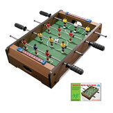 34x21x8cm Foosball Table Parent-child Wooden Soccer Game Table Footballs Table Match