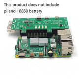 DSTIKE Pi Battery Monste Dual 18650 Battery Power Supply UPS 5V 3A Power Bank