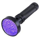 البنفسجي UV مصباح الأشعة فوق البنفسجية 100 LED مصباح يدوي Blacklight ضوء مصباح فحص الشعلة